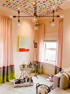 Rideau Chambre Bébé Fille : rideaux rose pour chambre fille pr l vement d 39 chantillons et une bonne id e de ~ Teatrodelosmanantiales.com Idées de Décoration
