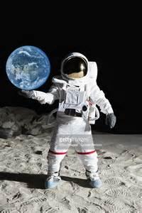 Astronaut On Moon Surface