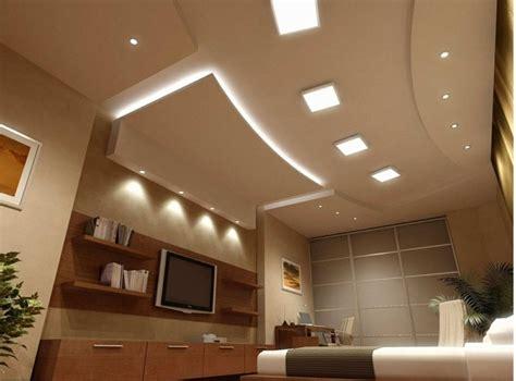 ruban led chambre éclairage led et types de luminaires dans le salon parfait