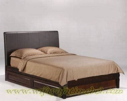 tempat tidur minimalis jati jepara wijaya jati mebel