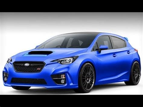 subaru brz sti redesign youtube
