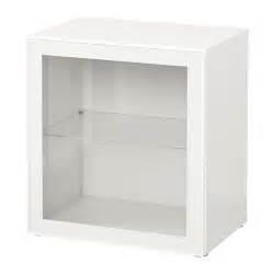 BESTu00c5 u00c9tagu00e8re avec porte vitru00e9e - blanc/Glassvik blanc/verre transparent - IKEA