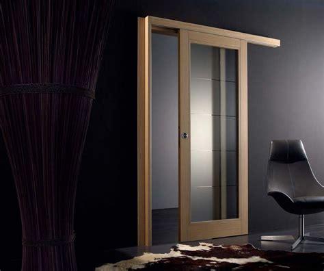 porte scorrevoli legno e vetro porta scorrevole in legno di rovere e vetro satinato orione