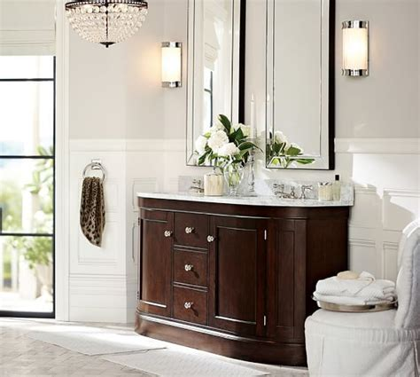 astor mirror pottery barn   choose   sinks