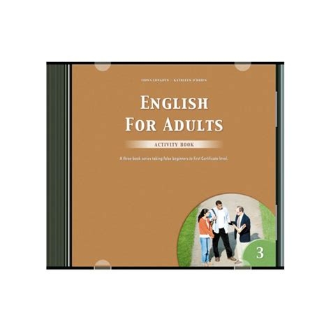 English For Adults 3 Activity Audio Cd (1