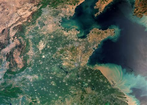 Earth From Space Shanghai China Spaceref