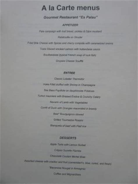 Surf & Turf Galleon Menu   Picture of Iberostar Grand Rose Hall, Rose Hall   TripAdvisor