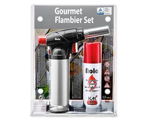 Gourmet-flambier-set Von Aldi Süd Ansehen! » Discounto.de