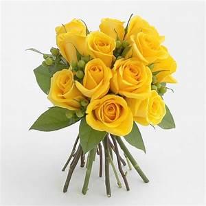 One Dozen Yellow Rose Bouquet in Mickleton, NJ   BowKay.com