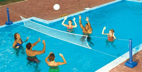 Volleyball Game For In-ground Swimming Pools