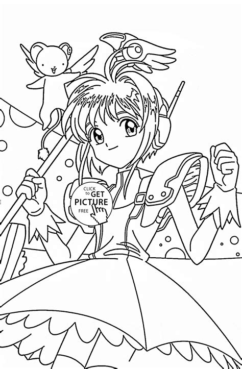 47 Japanese Anime Coloring Pages Anime Coloring Book
