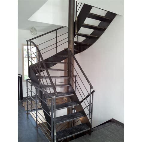 escalier 2 4 tournant tout m 233 tal metalex