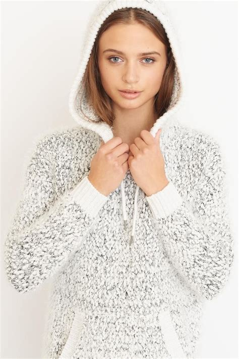 Garage Clothing Sweaters by Fuzzy Sweater Hoodie Sweater Weather Bien Au Chaud