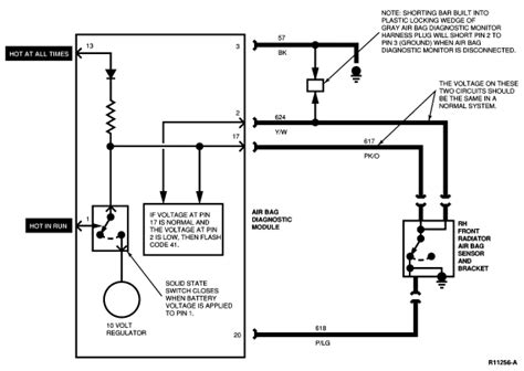 Air Bag Wiring Diagram by Lostrider I Replace Both Front Airbag Sensors On My 1994