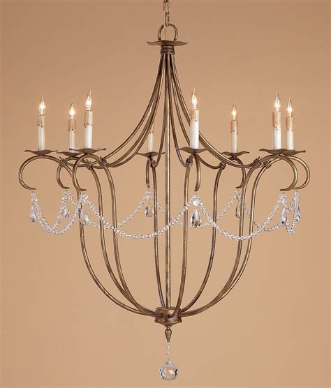 currey company lighting currey and company 9881 crystal lights eight light chandelier
