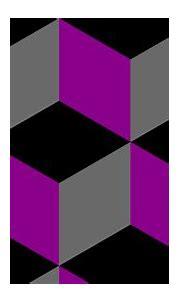 Wallpaper purple 3d cubes grey black #000000 #8b008b ...