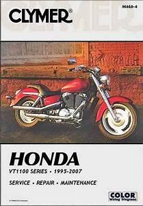 Honda Vt1100 Shadow Series Repair Manual 1995