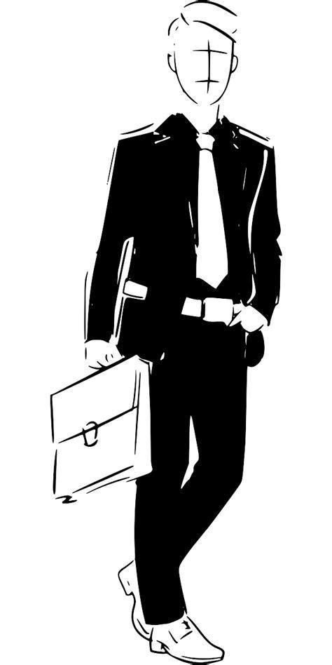 SVG > holding sketch hand-drawn suit - Free SVG Image