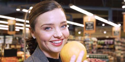 Miranda Kerr Grocery Shopping - Miranda Kerr Little Black ...