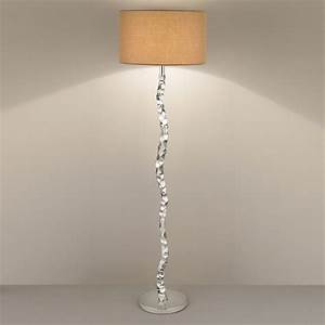 contemporary lamp shades for floor lamps design all With floor lamp with upside down shade