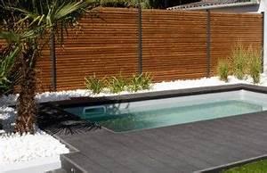 Mini Piscine Enterrée : mini piscine enterr e petite piscine caron piscines ~ Preciouscoupons.com Idées de Décoration