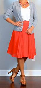 Best 25+ Orange skirt ideas only on Pinterest | Orange skirt outfit Modest work outfits and ...