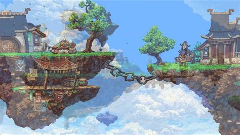 A Screenshot from Owlboy