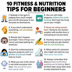10 fitness nutrition tips for beginners day design