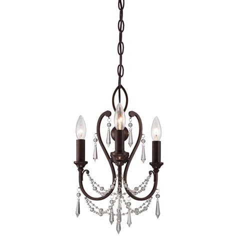 minka lavery 3 light vintage bronze mini chandelier 3138