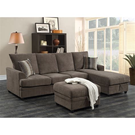 moxie chocolate sectional sofa  sleeper quality