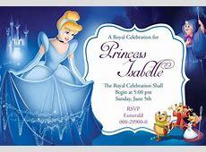 Cinderella Invitation Template Gallery Template Design Ideas