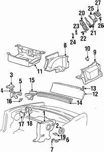 Pontiac Firebird Folding Seat Lock Striker  Convertible