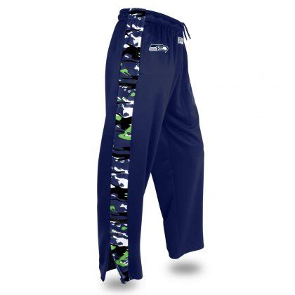 seattle seahawks camo stadium pant navy blueaction