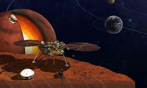 NASA InSight Lander successfully arrives on Mars, first ...