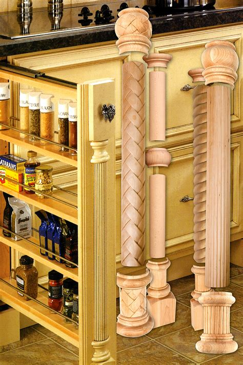 kitchen cabinet columns outwater introduces its updated design a column decorative 2421