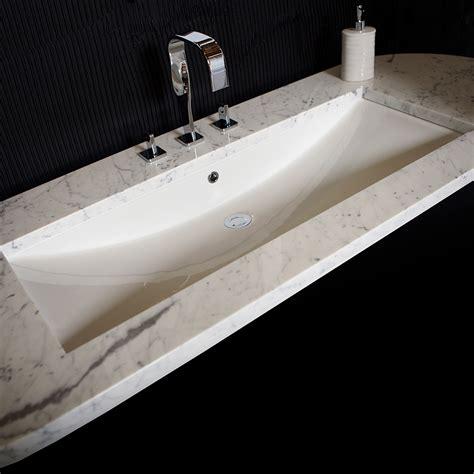 undermount faucet trough sink trough undermount sink befon for