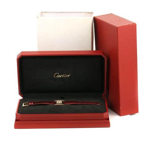 Cartier Divan by Cartier Tank Divan Large 18k Yellow Gold W6300556