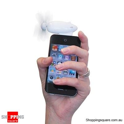 iProp iPhone Portable Electric Fan - Online Shopping @ Shopping Square.COM.AU Online Bargain ...