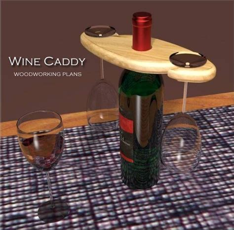 wine caddy woodworking project plans woodworking