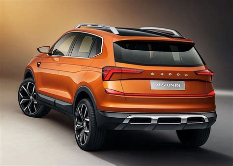Indian Skoda Vision IN Revealed with Bold Styling and 147 ...