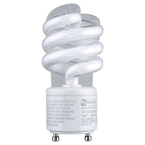 comparing the 13w gu24 bulb to incandescent bulbs energy