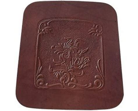 replacement leather chair seat walnut 12 quot furniture pads