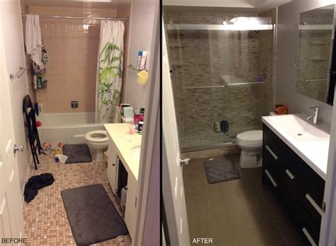 Bathroom Remodel Ideas Before And After by 20 Before And After Bathroom Remodels That Are Stunning