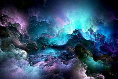 Abstract Fractal Clouds Desktop Background Wallpapers Resolution