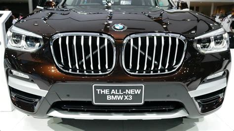 The 2015 bmw x3 is a part of the x3's second generation, which began with the release of the 2011 bmw x3 and continued through the 2017 bmw x3. 2019 BMW X3 XDrive 20d - Exterior - Luxury SUV - YouTube