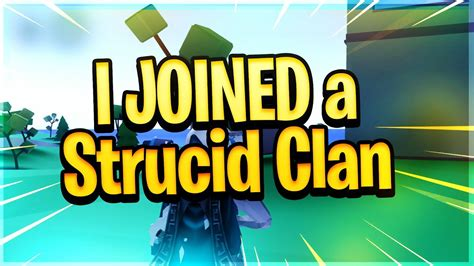 joined  strucid clan roblox fortnite youtube