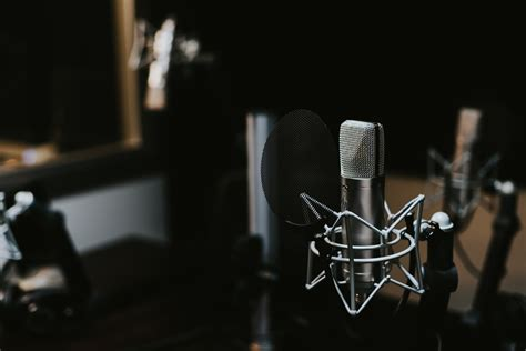 condenser microphone   studio hd photo  jonathan