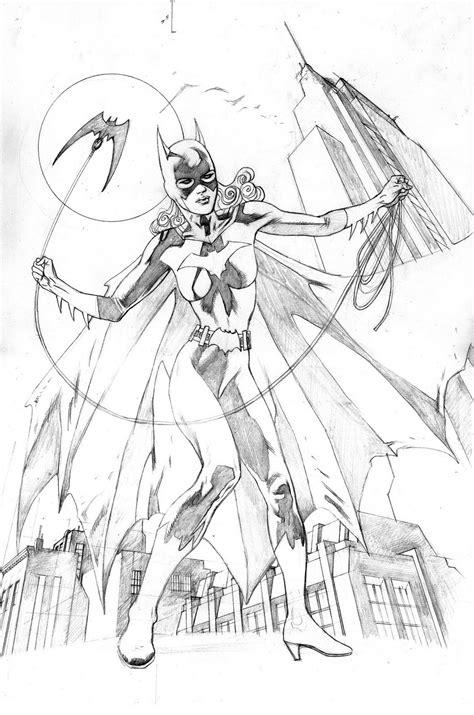 Kleurplaat Batgirl by Free Printable Batgirl Coloring Pages For