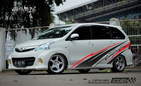 Modifikasi Cutting Stiker by Modif Sticker Mobil Xenia Ottomania86
