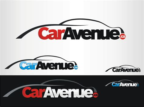 Dealership Logo Design For Caravenue.ca By Eightball Inc